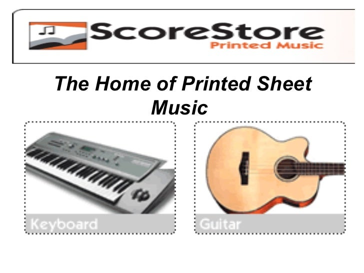 The Home of Printed Sheet Music