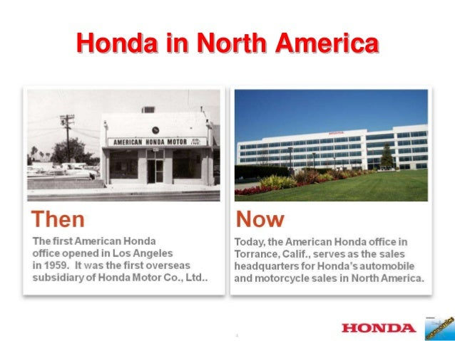 4 Honda In North America