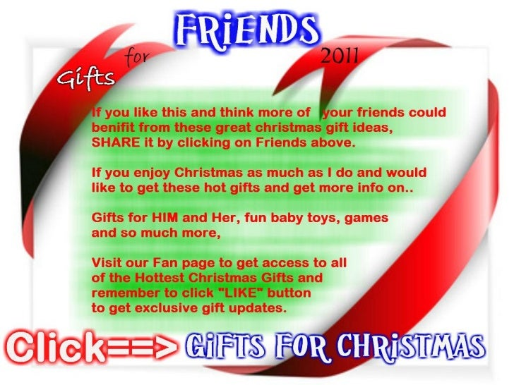 The hottest christmas gifts 2011
