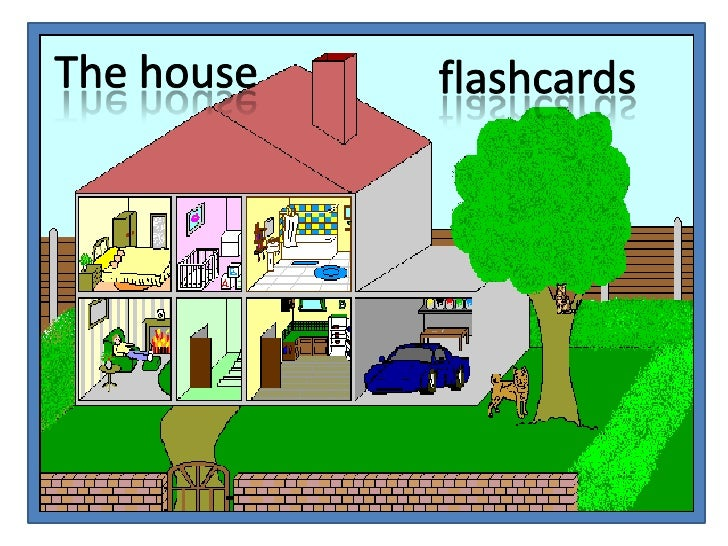 The house<br />flashcards<br />