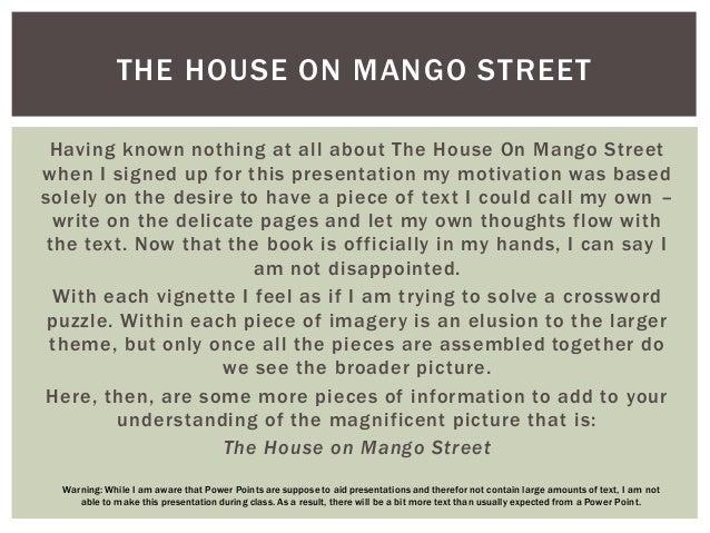 the house on mango street plot diagram