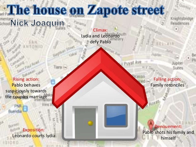 the house on zapote street The house on zapote street awarded national artist of the philippines for literature in the year 1976 point of view third person conflict moral.