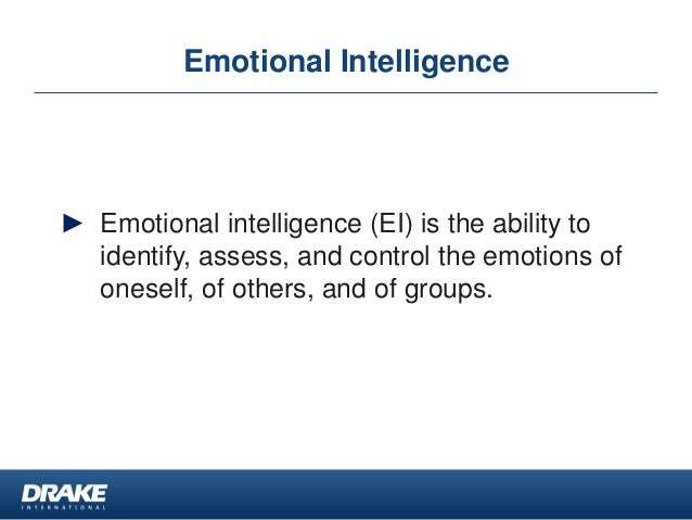 the importance of emotional intelligence ei in developing leaders in organizations Strategic management study leaders play an important role in sustaining an organization's culture emotional intelligence (ei.