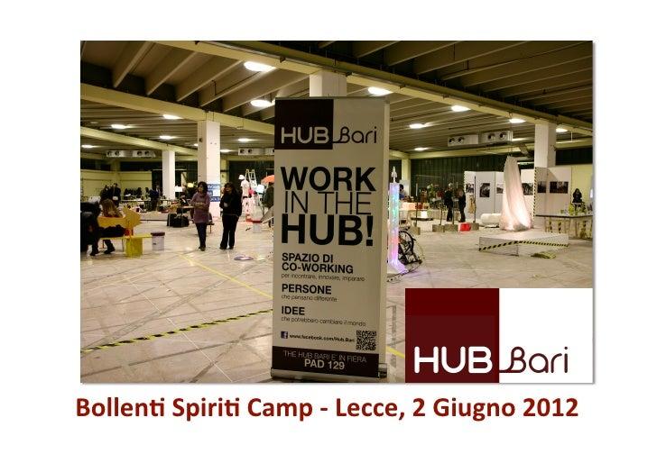 Bollen&Spiri&Camp‐Lecce,2Giugno2012