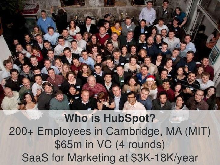 The HubSpot Story Slide 2