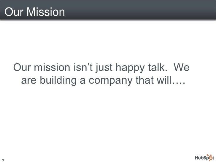The HubSpot Way 2010 Slide 3