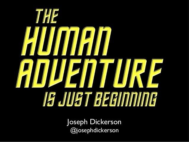 Joseph Dickerson @josephdickerson