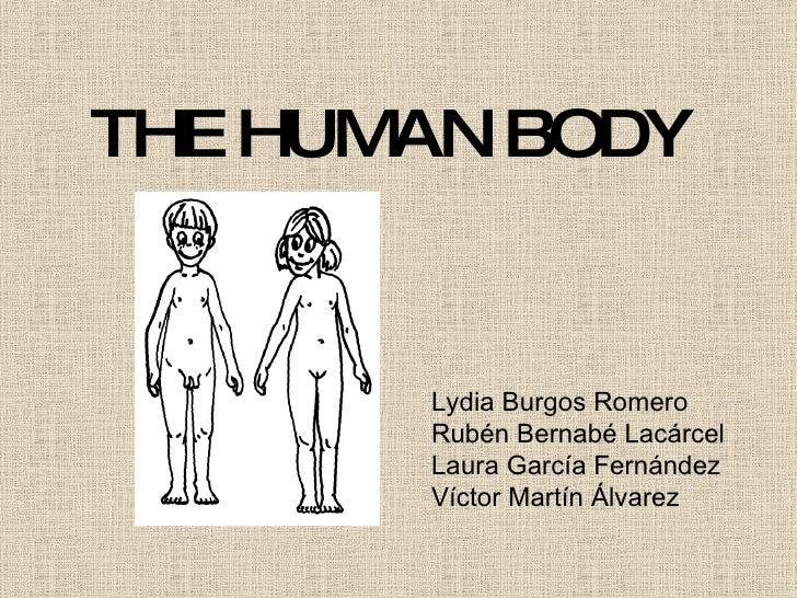 THE HUMAN BODY Lydia Burgos Romero Rubén Bernabé Lacárcel Laura García Fernández Víctor Martín Álvarez