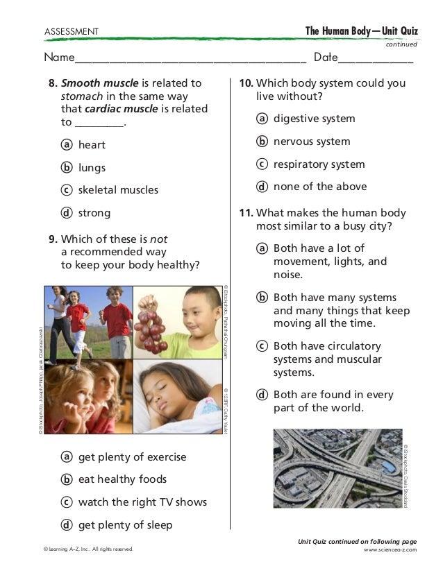 Contemporneo Human Anatomy Trivia Questions Vieta Imgenes De