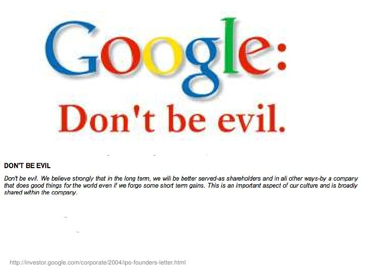 Google ipo letter from founders