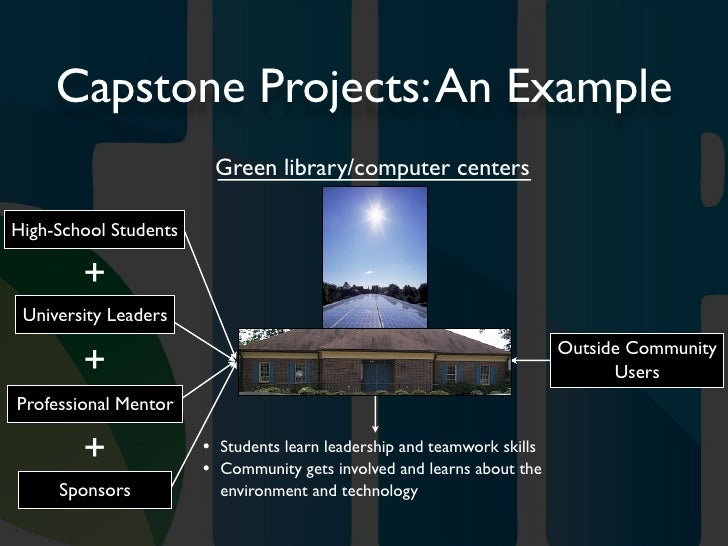 high school capstone project