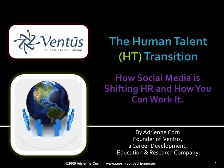How Social Media is                       Shifting HR and How You                              Can Work It.               ...