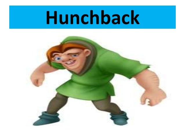 hunchback man