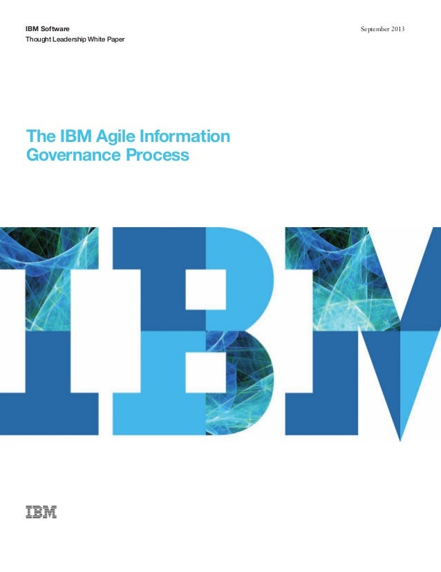 The IBM Agile Information Governance Process