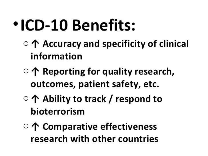 The ICD-10 Change-Over: Getting Started