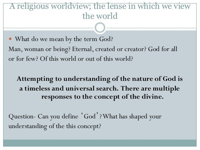 What does it mean to be made in God's image?