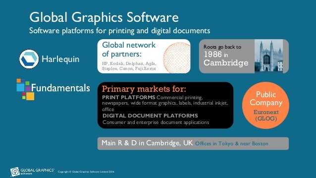 Intelligent software is as important a component of your digital press as any hardware Slide 2