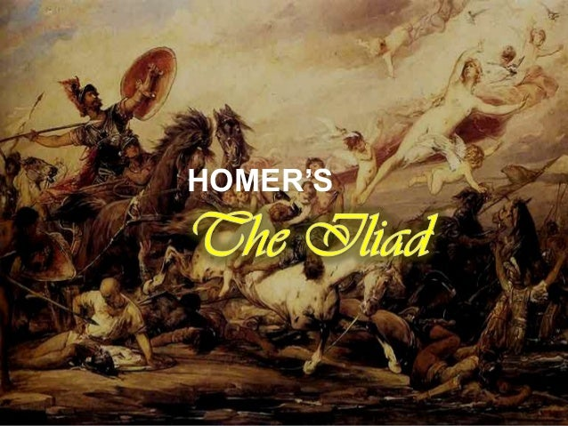 What epic elements do you find in Homer's Iliad?
