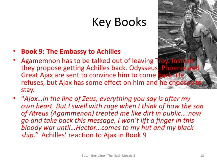 iliad book 18 achilles shield