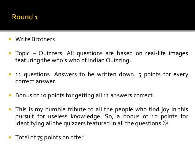 The Illuminati Quiz 2013 at Model Engineering College, Kochi