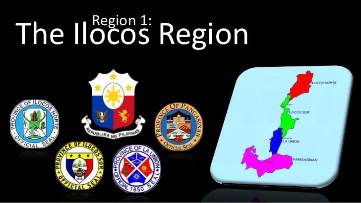Region 1:The Ilocos Region