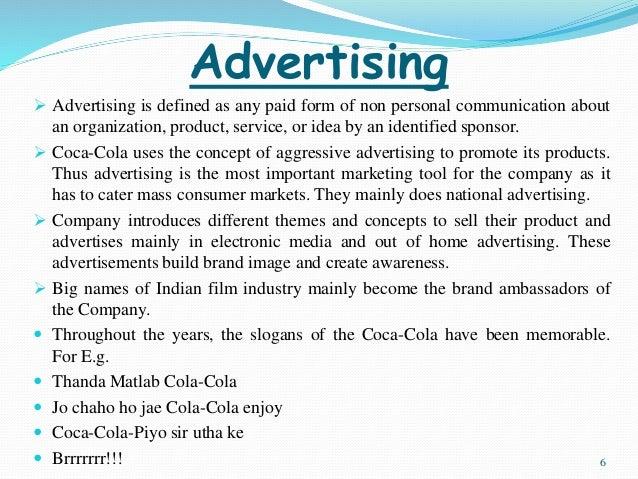 Imc tools coca cola Coursework Example - 2055 words
