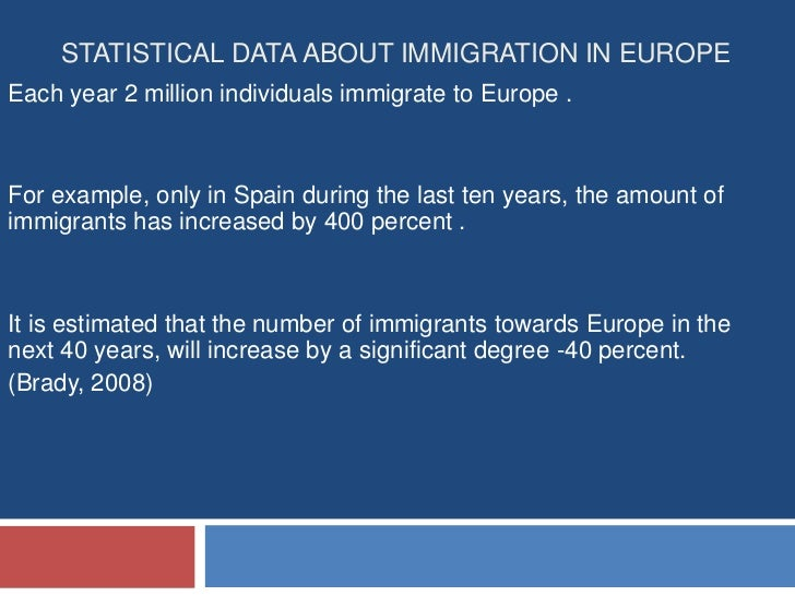 immigration issues in western europe Immigration of less educated, younger eastern europeans and north africans to western europe would economically benefit its educated and older population this column, summarising research on immigration effects in germany, suggests that, to fully reap the benefits from immigration, western europe should make its labour markets more competitive and accessible to outsiders.