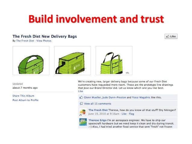 Build  involvement  and  trust