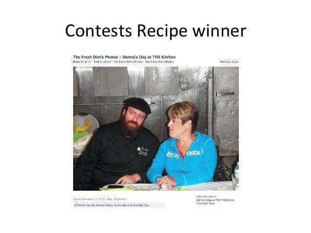 Contests  Recipe  winner