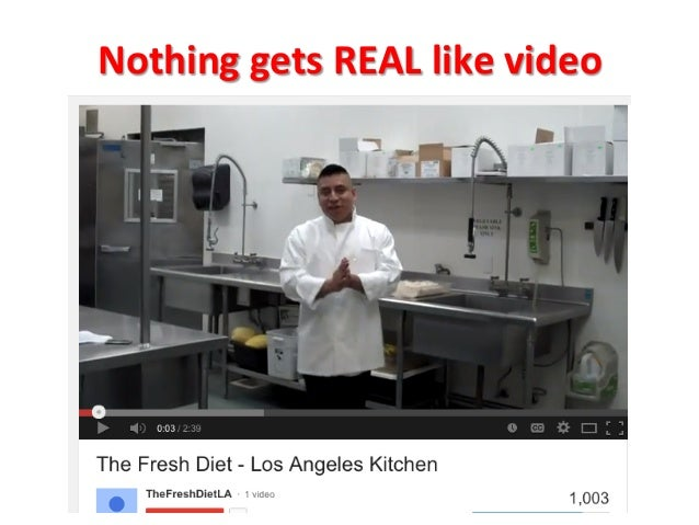 Nothing  gets  REAL  like  video