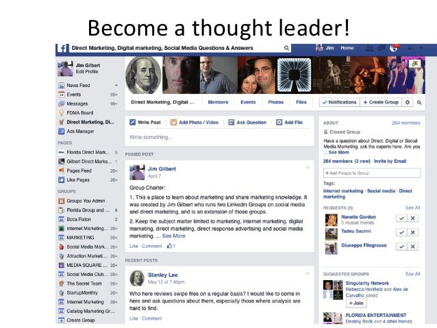Become  a  thought  leader!