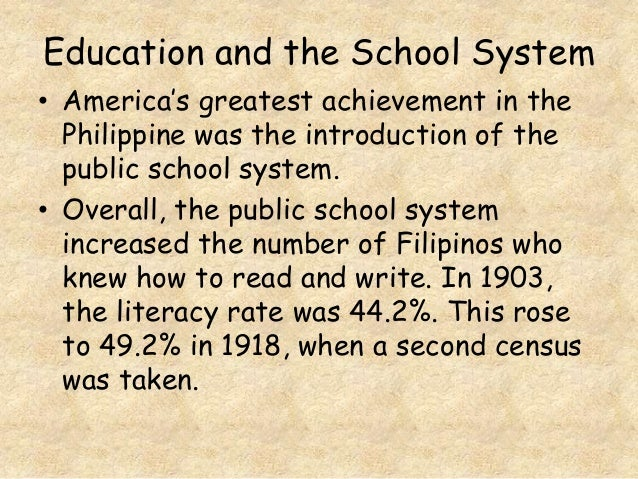 an introduction to the issue of the public school system in the united states For public protection, government agencies at the federal, state, and local levels issue and enforce regulations  taxes in the united states  and vocational.