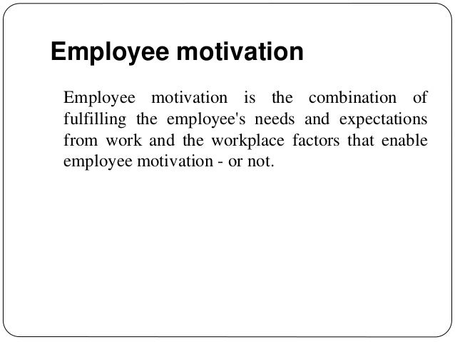 Positive & Negative Effects of Employee Motivation