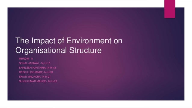 articles on organizational structure