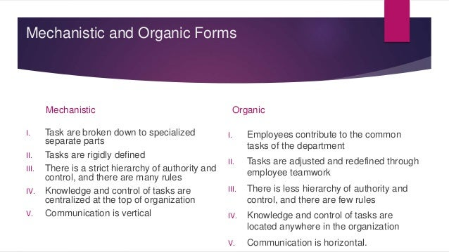 the impact of how organisational structure When observing the impact of organizational culture,  they tend to encourage cohesiveness at all levels of organizational structure and purposely seek.