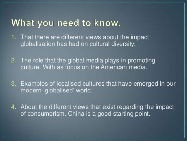 cultural diversity and globalization Explore jenna brown's board globalization & cultural diversity on pinterest | see more ideas about knowledge, psychology and around the worlds.