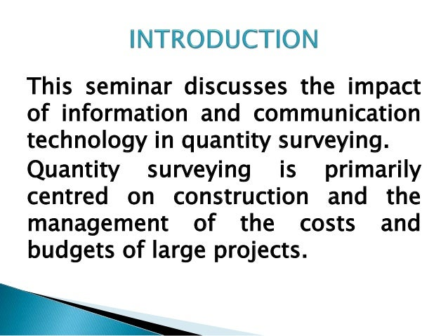 discuss the impact of information and