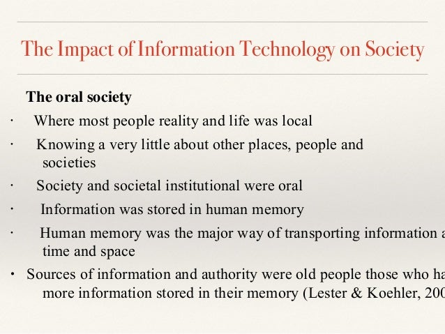 How Does Technology Impact Your Daily Life?