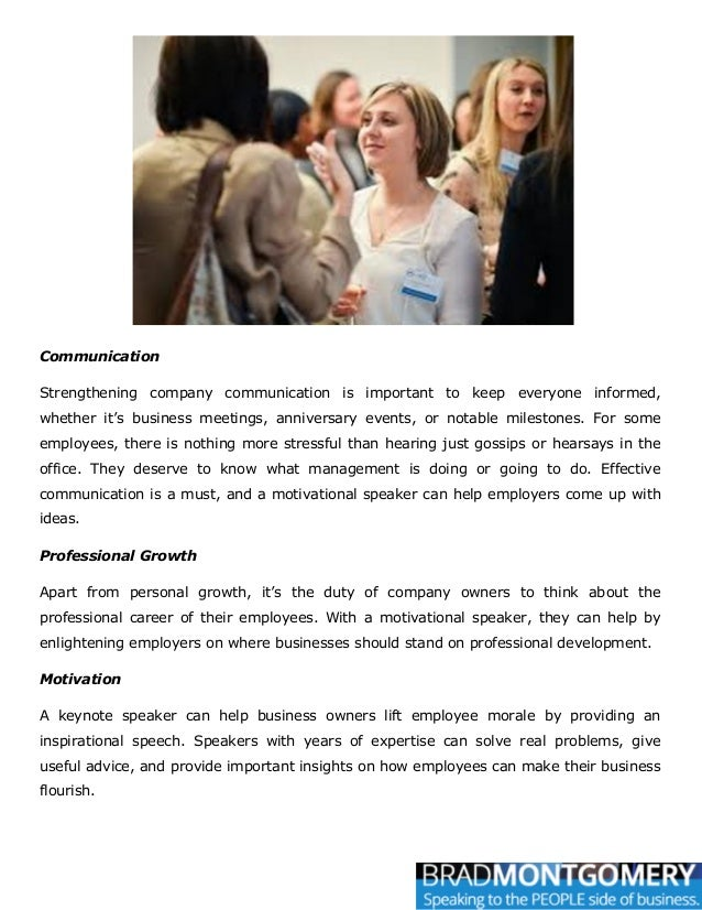Communication Strengthening company communication is important to keep everyone informed, whether it's business meetings, ...
