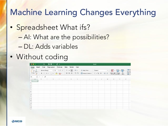 ADV Slides: The Impact of Machine Learning on the Enterprise