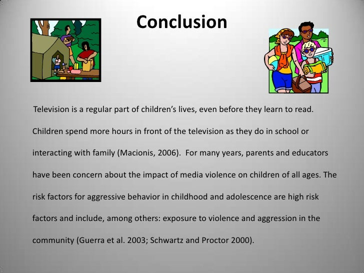 violence in media no problem or promotes violence in society essay