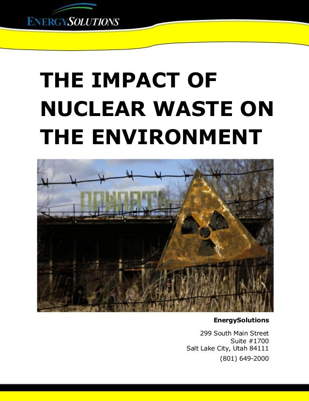 the consequences of mishandling radioactive wastes Radioactive waste nuclear power the main two parts of nuclear power plants are the nuclear the society needs to be educated on the effects of nuclear.