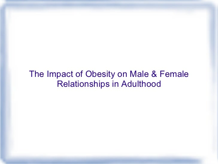 the impact of obesity Impact of childhood obesity goes beyond health adults who have been overweight since high school risk a lifetime of disease, discrimination and poverty a new study of obese 40-year-olds found.