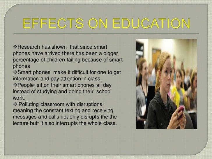 The impact of smart phones pptx 4