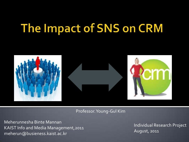 impacts of sns