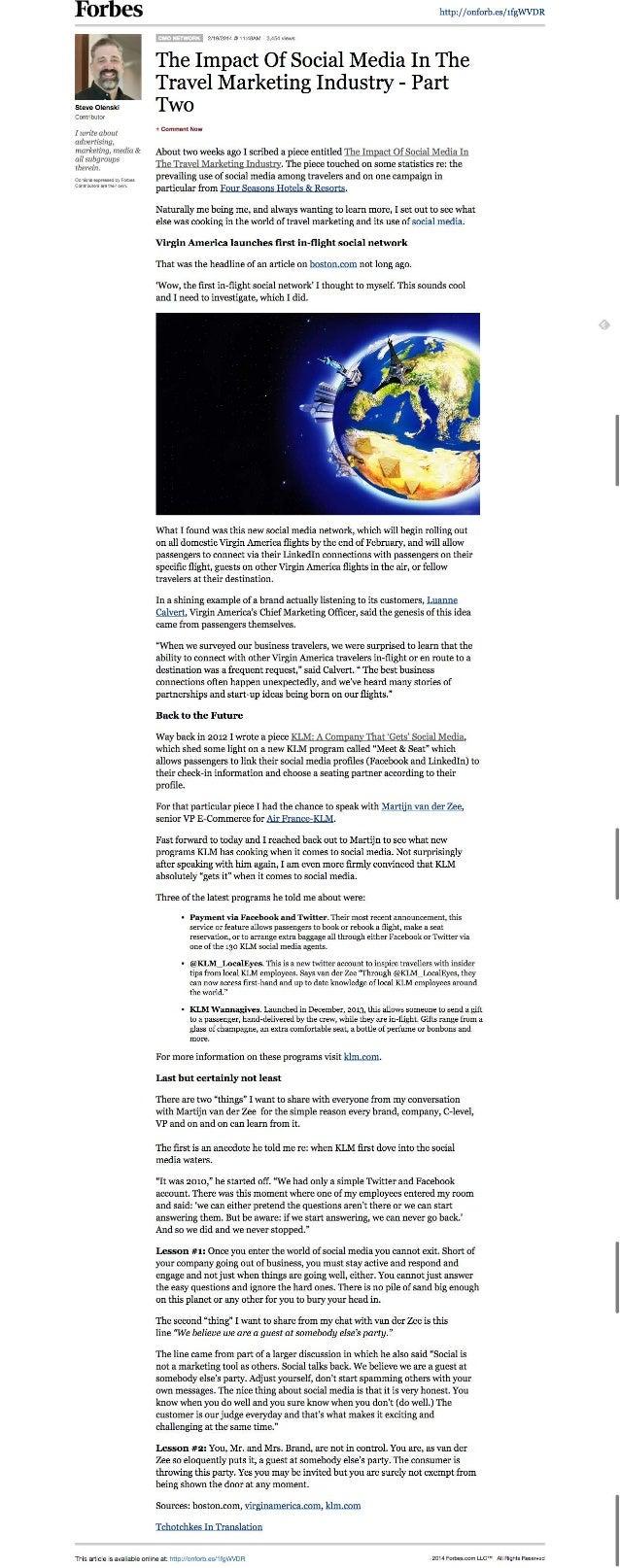 Forbes  i i r-. ~ 5. -.4 ix   I A».  . . . Steve Olanskl Contributor  I write about advertising.  marketing,  media & all ...