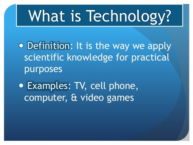 technology impact definition way economy symbolic interactionism