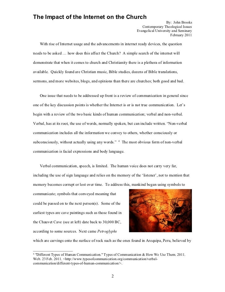 term paper on the impact of Cause and effect essay | printable version | definition: in this kind of essay, the aim is to explain the causes (reasons) or the effects (results) of an event or situation.