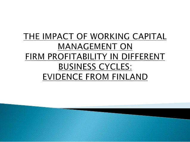 journal articles on working capital management pdf