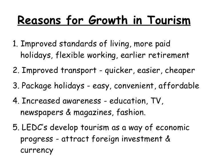 impact of tourism in kenya The impacts of tourism in kenya 1 tourism in ledcs case study: kenya 2  why has there been a growth in international tourism cheaper.